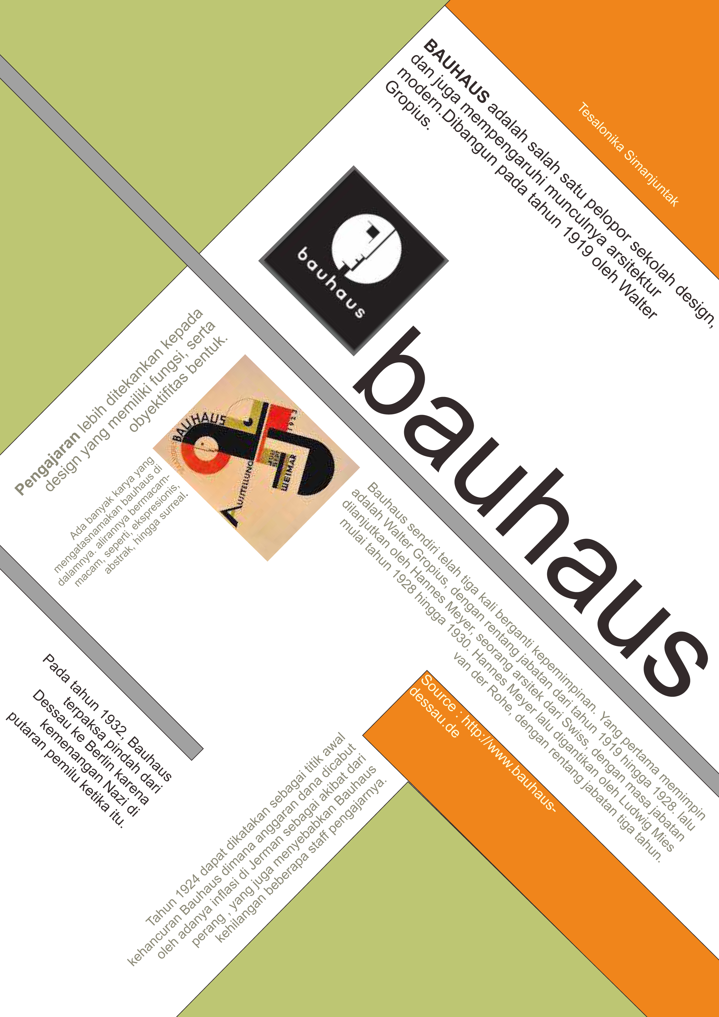 a history of bauhaus A selected list of guides to to the bauhaus school, founded in 1919 in weimar, germany (moving to dessau in 1925) by architect walter gropius, and highlights of some of its major figures many major 20th-century designers and artists—among them, josef albers, herbert bayer, marcel breuer, paul.